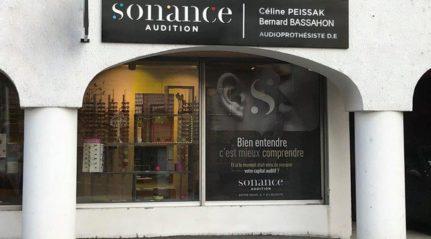 Vitrine Frangy sonance audition annecy maitre Audio Celine PEISSAK aides auditives rechargeables audioprothésiste